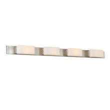 WAC US WS-20646-BN - DICE 46IN 4 LIGHT SCONCE/VANITY 3000K