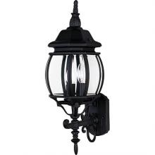 Maxim 1033BK - Crown Hill-Outdoor Wall Mount