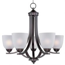 Maxim 11225FTOI - Axis-Single-Tier Chandelier