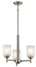 Kichler 43670NI - Mini Chandelier 3Lt