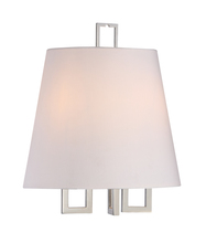 Crystorama 2252-PN - Libby Langdon for Crystorama Westwood 2 Lt Nickel Sconce