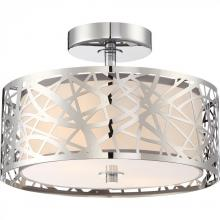 Quoizel PCAE1712C - Platinum Collection Abode Semi-Flush Mount