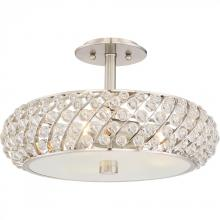 Quoizel PCLG1715BN - Platinum Collection Legion Semi-Flush Mount