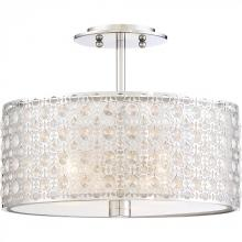 Quoizel PCVY1714C - Platinum Collection Verity Semi-Flush Mount