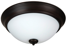 "Jeremiah XP13ABZ-2W - Pro Builder 2 Light 13"" Flushmount in Aged Bronze Brushed"