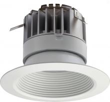 Acuity Brands 223WRT - P Series 4 in. Matte White 3000K LED Recessed Baffle Module