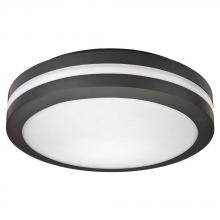 Acuity Brands 214F9W - Outdoor Bronze 4000K LED Decorative Cast Flush Mount