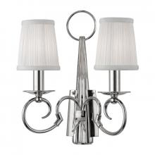 Hudson Valley 1692-PN - 2 Light Wall Sconce