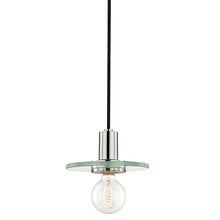 Hudson Valley H113701S-PN - 1 Light Small Pendant
