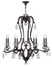 Hinkley 4404GR - Chandelier Marcellina