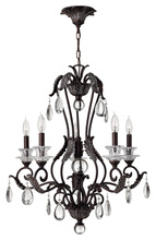 Hinkley 4405GR - Chandelier Marcellina