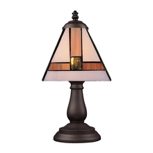 ELK Lighting 080-TB-01 - Mix-N-Match 1 Light Table Lamp In Tiffany Bronze