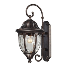 ELK Lighting 45003/1 - Glendale 1 Light Outdoor Wall Sconce In Regal Br